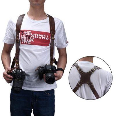 Genuine Leather Camera Strap