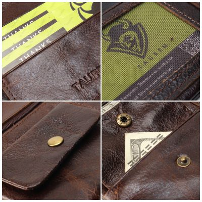 Unisex Premium Leather Purse and Wallets