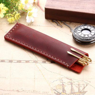 Pen and Pencil Premium Leather Case