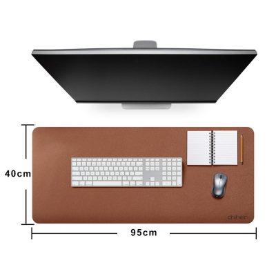 Premium Faux Leather desktop mat