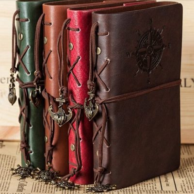 Dairy Vintage Leather Notepad