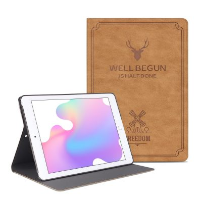 Leather Flip Stand Case for iPad Air
