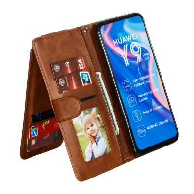 Premium Flip Leather Case for Huawei Honor 9X
