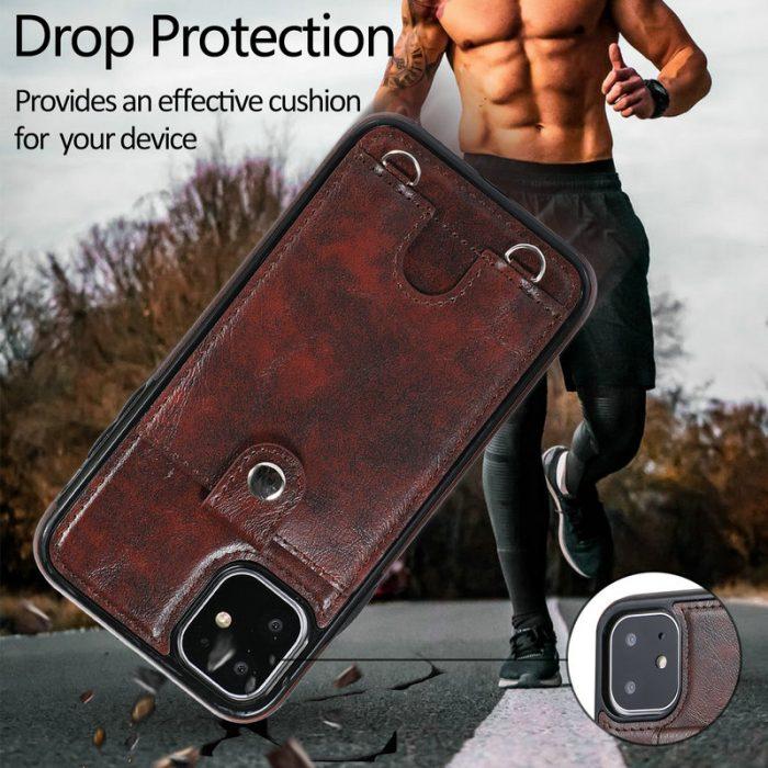Premium Leather iPhone 11, 11Pro, 11Pro Max Case