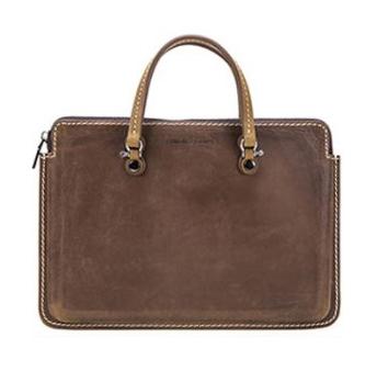 """Premium Genuine Leather 15"""" Laptop Bag"""