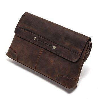 Premium Leather Multifunction Long Purse for Men