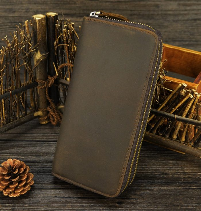 Premium Vintage Leather Unisex Wallet
